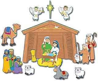Carson Dellosa CD-1750 BB Set Nativity