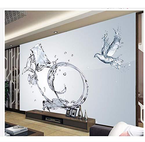 Xzfddn Home Decoration 3D Room Wallpaper TV Hintergrund Dekorative Malerei Blume Wasser Foto Wand Murals Wallpaper