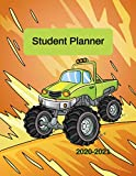 Student Planner 2020-2021: School Planner for Elementary Kids to Stay Organized at Home and School with Big Monster Trucks for Boys Coloring Activities (Back To School Books)