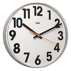 BAI Lucite Wall Clock, Big No White
