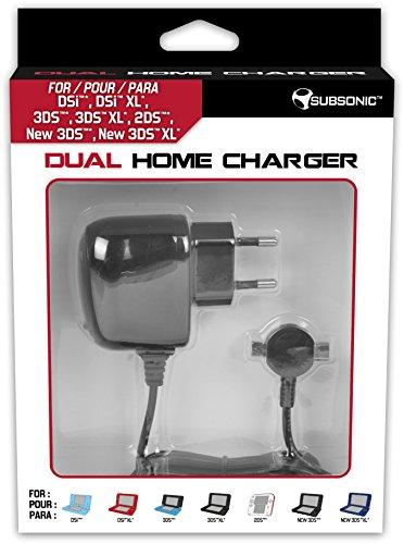 Subsonic - Cargador para casa - Doble cargador de corriente para 2...