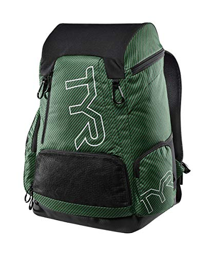 TYR Unisex's Carbon 45L Printed Backpack, Green