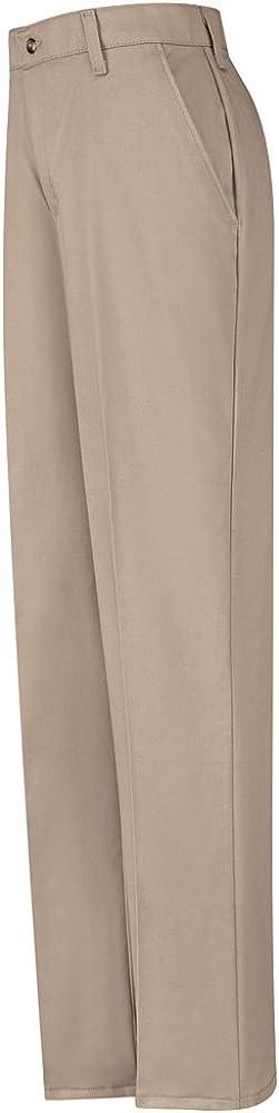 Red Kap Plain Front Cotton Pant, Women, PC45KH, 1234U