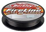 Berkley BU8FLFS30-42 FireLine Ultra 8-Sedal de Pesca, 125 Yardas, 30 kg, Color Humo, Gris, 125 yd/ 30 LB