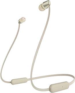 Sony WI-C310 Draadloze Bluetooth in-ear hoofdtelefoon, 15 uur batterijduur, voice assistent, magnetische oordopjes, Behin...