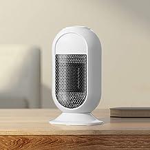 NFJ-LYR Calefactor de Aire Caliente,Mini Calefactor Cerámico,Calefactor Portátil Eléctrico,Calefactor Protección sobrecalentamiento