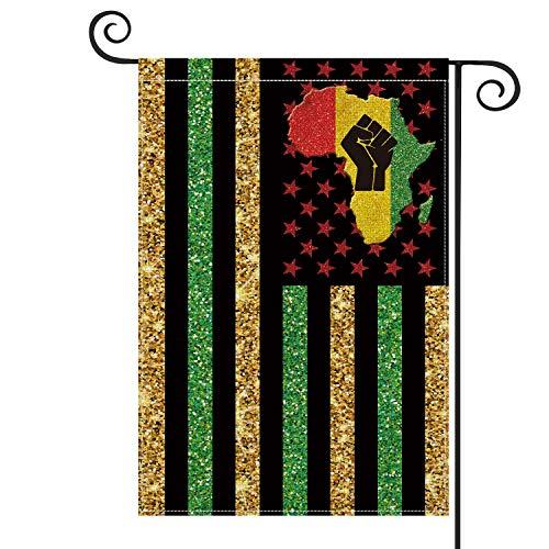 African American Garden Flag