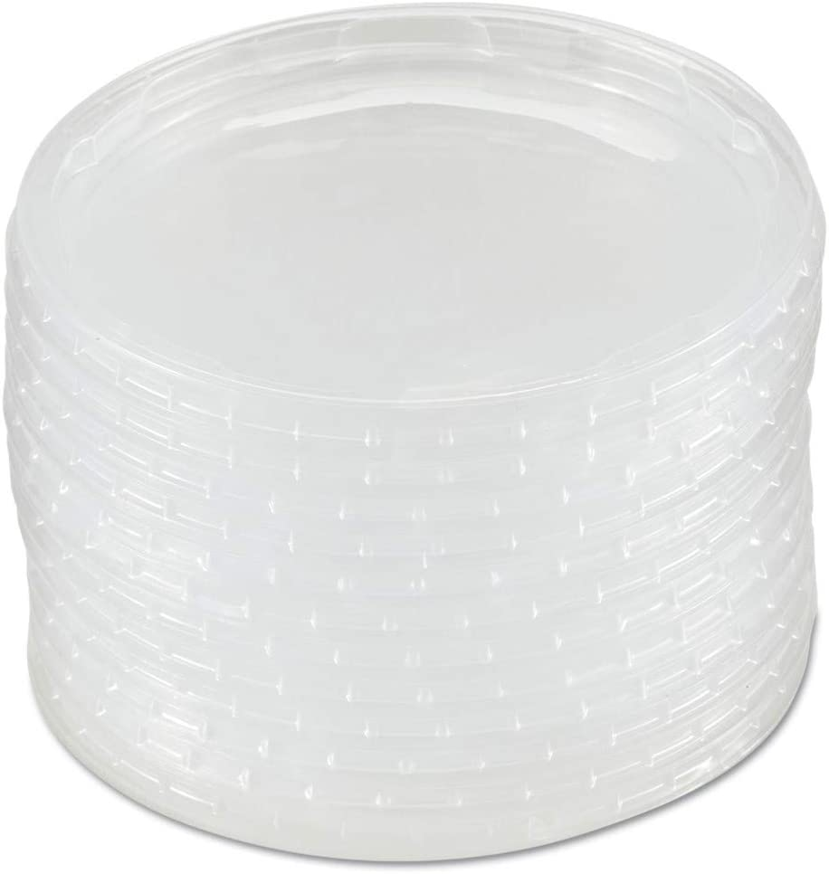 WNA WNA APCTRLID Plug-Style Deli Container Lids, Clear, 50/pack,