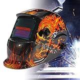 Froadp Automatik Schweißhelm Solar Schweißmaske DIN 9-13 Freie Einstellung mit großes Sichtfeld...