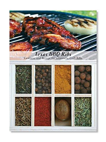 Feuer & Glas Texas BBQ Ribs/ costole texane, spezie, ricetta & lista della spesa, 43g