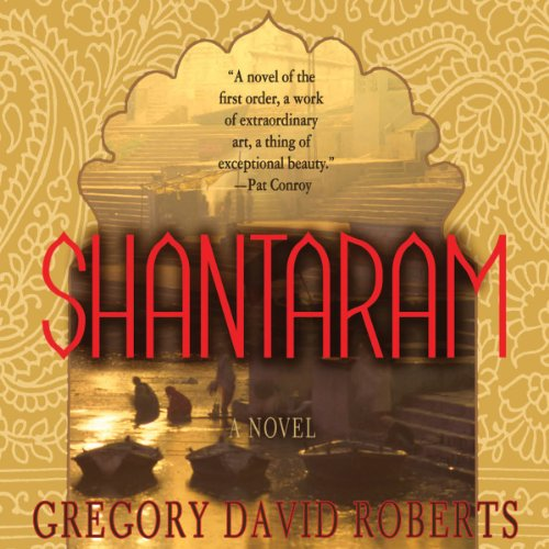 Shantaram audiobook cover art