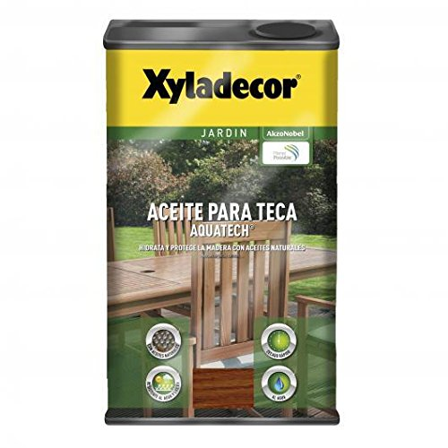 Xyladecor Aceite para Teca Aquatech color Teca 5 L