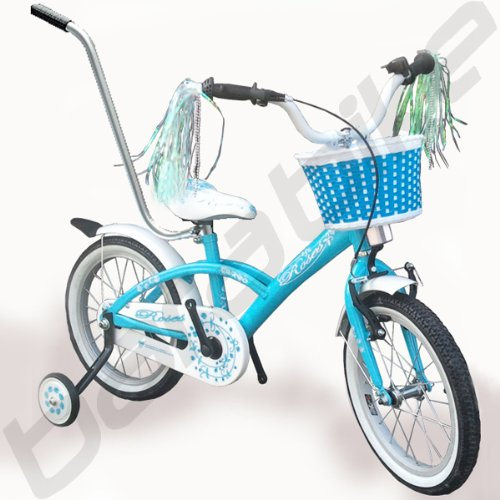 'Vélo pour enfant 16 Fille de vélo Bleu