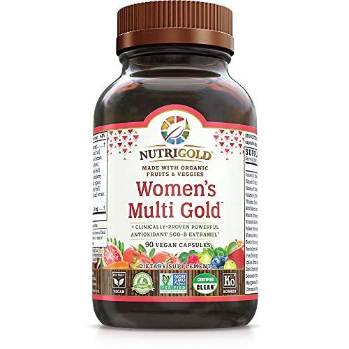 Nutrigold Organic Multivitamin for …