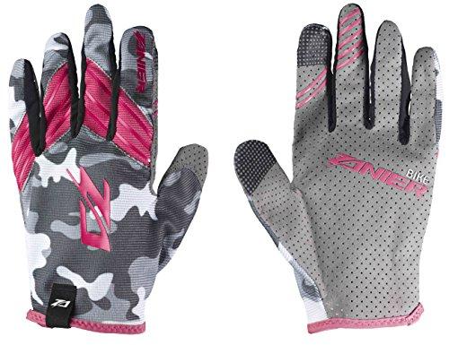 Zanier Erwachsene Shredder Handschuhe, camo Fuchsia, XL