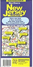Northern New Jersey Road Map (USA City Maps)