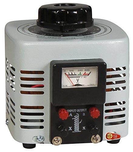 MC POWER - Ringkern-Stelltrafo | V-2000 | 0-250 V, 2 A, 500 W, NICHT galvanisch getrennt