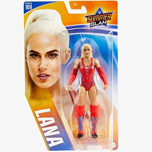 COLLECTOR WWE Serie 109- Lana - SummerSlam Actionfigur, Bring Heim Die Aktion Der WWE - Circa 6