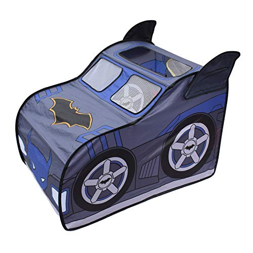 Batman Pop Up Batmobile Tent - Indoor Playhouse for Kids | Toy Gift for Boys and Girls