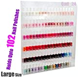 Home-it Nail Polish Rack Nail Polish Organizer Holds up to 102 Bottles Great nail polish holder nail polish storage