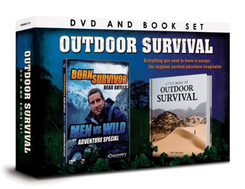 OUTDOOR SURVIVAL DVD & BOOK Set [UK Import]