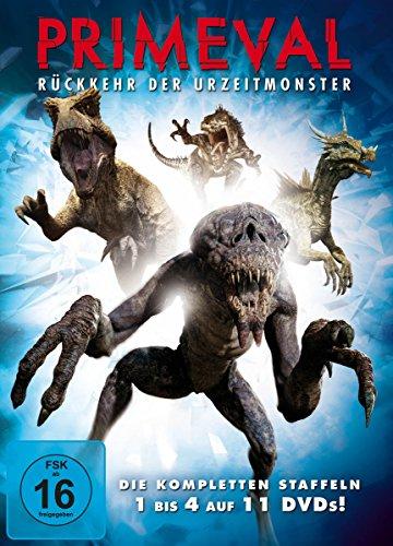 Primeval: Rückkehr der Urzeitmonster - Die kompletten Staffeln 1 bis 4 (11 DVDs)