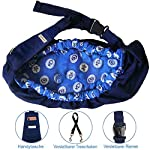 OrgMemory Carrier Soft-Sided Pet Carrier, Hands-Free Adjustable Sling Bag, Small Dogs/Cats Outdoor Shoulder Carry Bag 10