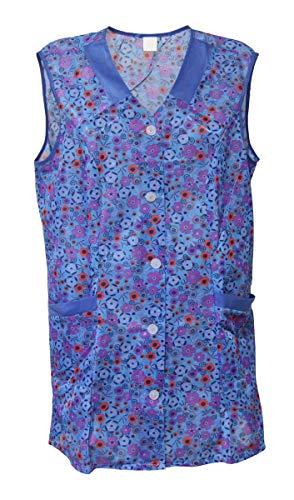 7/8 Kasack 85 cm Kittel kurz Schürze Dederon Polyester, Größe:40, Modell:Modell 2