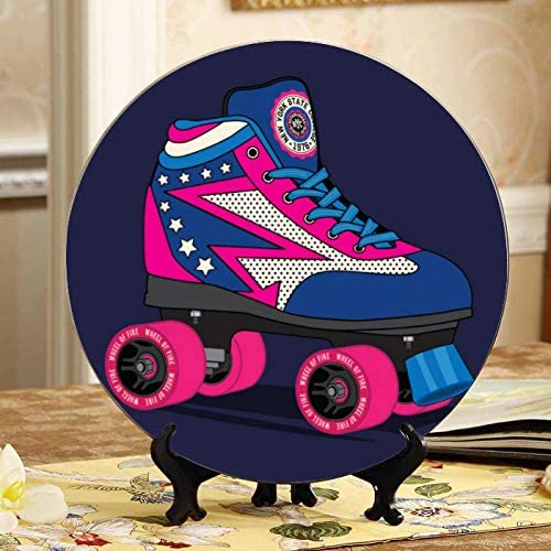 Discount is also underway ALALAL Two Pairs of Roller Skates and - Japan Maker New Plates Women Display Men