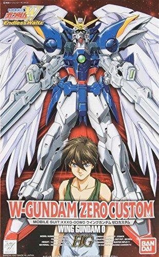 Bandai Hobby EW-02 1/100 High Grade Endless Waltz Wing Gundam Zero Custom Model Kit