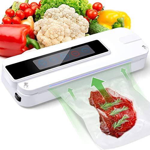 真空包装機シーラー 食品セーバー パワーバック コンパクト真空シーリングマシン