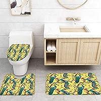 ZGDPBYF 浴室用アップホームバスマットピーコックアニマル縁起の良いプリントバスマットシャワーフロア用カーペットバスタブマット