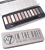 W7 Eye Colour Palette, In the Buff contiene 12 colores nudes. de W7