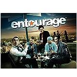 ZFLSGWZ Entourage – Comedy Drama Serie Tv Canvas Posters e impresiones Arte de pared Cuadros para decoración del hogar – 60 x 80 cm sin marco