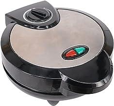 Sanduicheira, máquina de waffle, sanduicheira, revestimento antiaderente removível, luzes indicadoras de LED, alça de toqu...