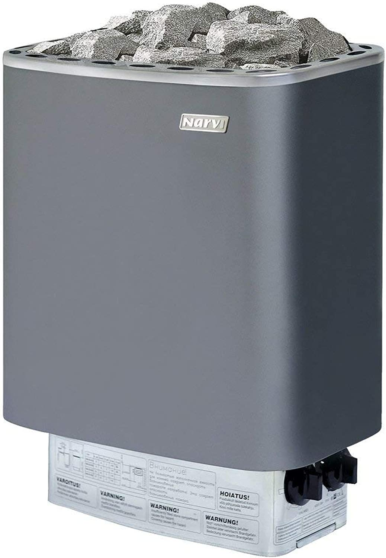 SAUNAFEN NARVI NM - 9,0 kW, Farbe  Grau