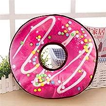 Generic Velvet Donut Cushion (14x14 Inches, Multicolour)