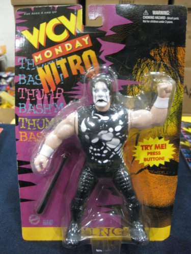 WCW Sting Wrestling Action Figure WWF WWE