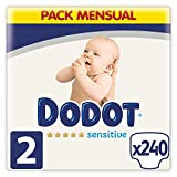 Dodot Sensitive Pañales Talla 2, 4-8 kg, 240...