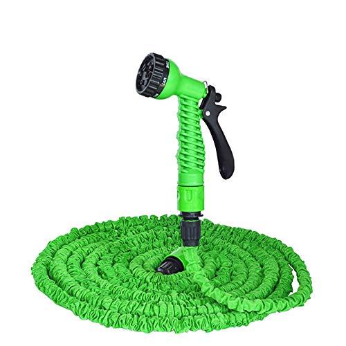 Tubo Estensibile da Giardino, 100FT 30m Tubo Irrigazione con 7 Funzioni di Spruzzo, con Adattatore, Utilizzato per l'irrigazione Del Giardino, il Lavaggio Dell'auto, il Bagno Degli Animali Domestici