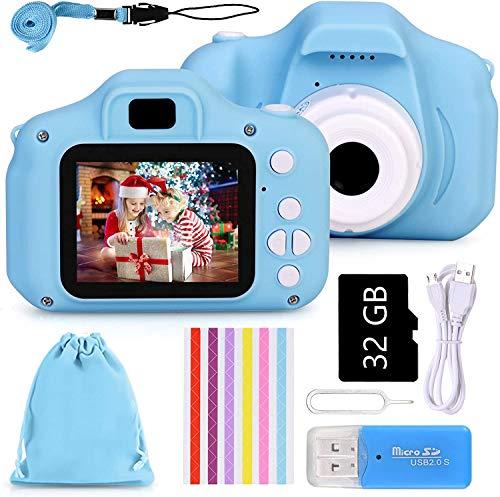 Faburo Kids Camera Appareil Photo Numérique Enfant Mini Numérique Caméra pour Enfant Mini Toy...