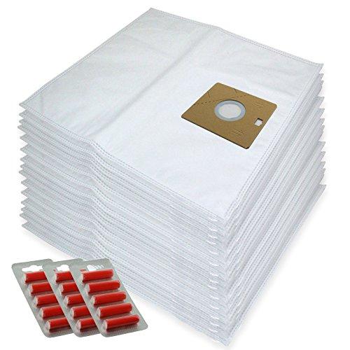 SPARES2GO Microvezeldoekzakken voor Nilfisk Actie A100 A200 82215200 Stofzuiger (Pak van 15 + 15 Fresheners)