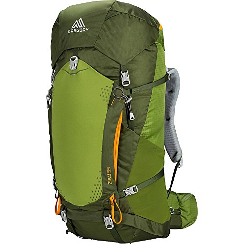 Gregory Mountain Products Zulu 55 Liter Men's Backpack, Moss Green, Medium