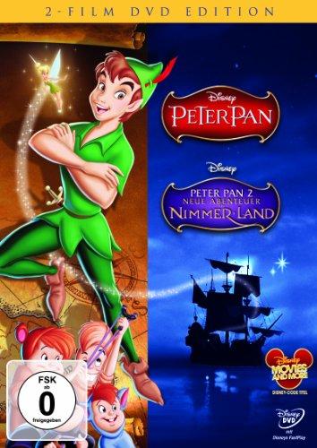 Peter Pan / Peter Pan 2: Neue Abenteuer in Nimmerland [2 DVDs]