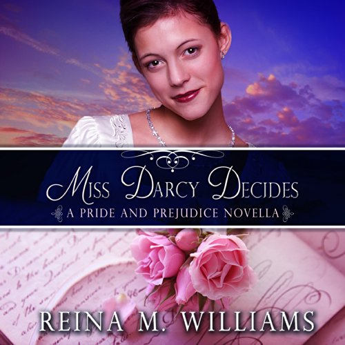 Miss Darcy Decides audiobook cover art