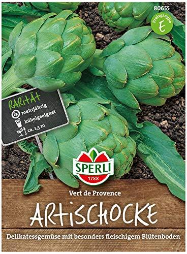 80655 Sperli Premium Artischocke Samen verte de provence | Delikatess Sorte | Ertragreich | Artischocke Saatgut | Artischocken Samen
