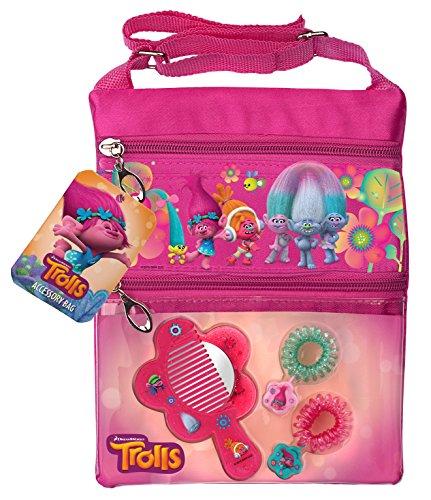Trollific Trend Bag met accessoires - schoudertas met haaraccessoire voor kinderen van