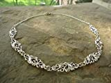 Zoom IMG-2 collare di ornamenti catena delicata