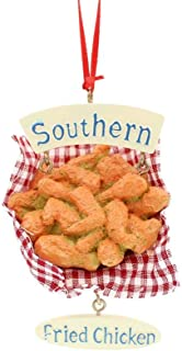 Kurt Adler 3.625-Inch Resin Southern Fried Chicken Ornament