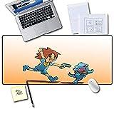 Ttoo'l Ampio Tappetino per Mouse 900X400X3MM(XXL Mouse Pad,Superficie Comoda e Liscia migliora precisione e velocità,per LOL Go Wow PC Elf Baby-4